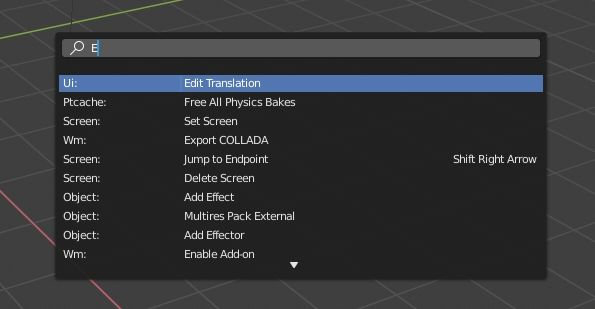 The new shortcuts in Blender 2 8 [ENG]