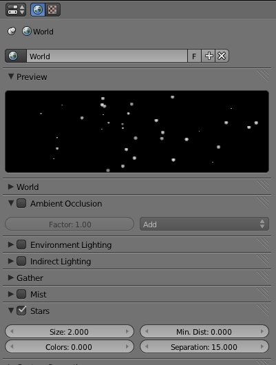 How To Add Stars Background With Cycles In Blender Eng